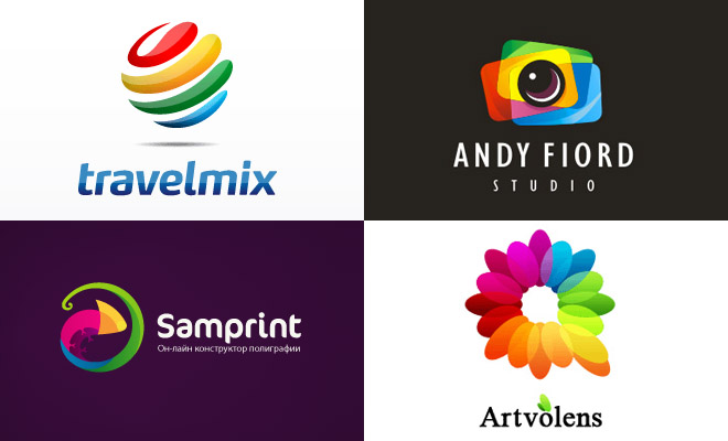 g505 40 Attractive Colorful Logo Design Examples for your inspiration
