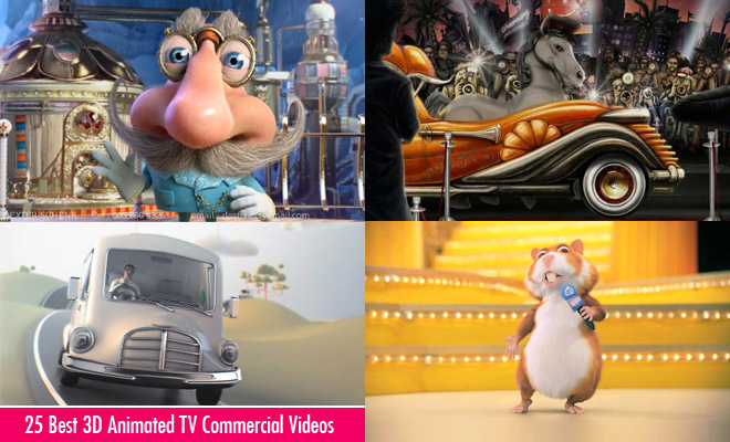 g552 25 Best 3D Animated TV Commercial Videos   TVC