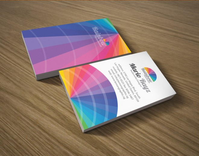 g556 30 Colorful Business Card Design Examples for your inspiration