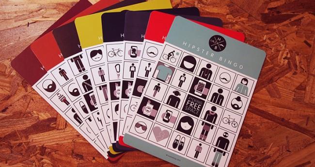 hipster bingo 650x345 Creative design for bingo cards