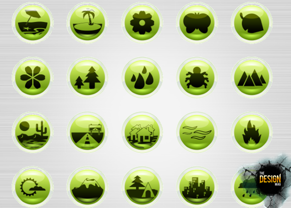 nature2 Showcase Nature Inspired Icon Sets