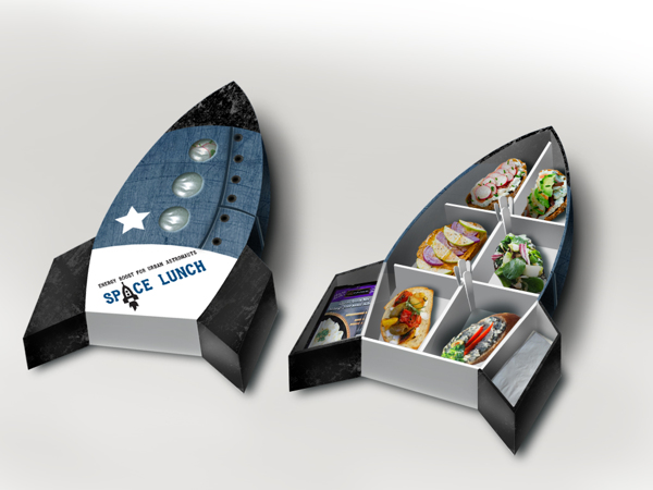 space lunch 02 Packaging Designs Inspiration #3