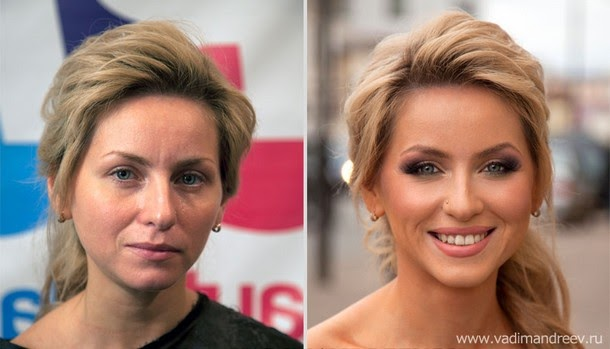 stunning makeup transformations Amazing Before and After Makeup Photos by Vadim Andreev