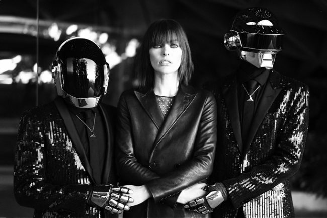 tumblr mrhnaw3iej1rf43pdo1 r2 12801 650x433 Milla Jovovich and Daft Punk in CR Fashion Book
