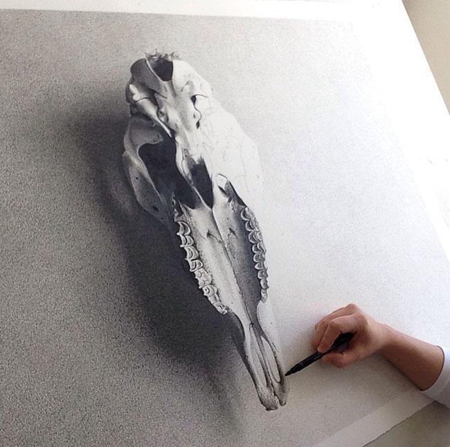 1414 Pen on Paper