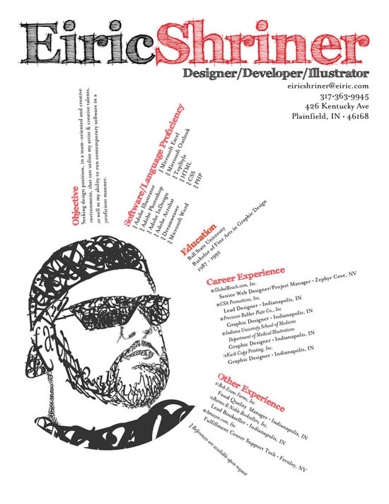 graphic samples creative design resume - Graphic Designers Resumes