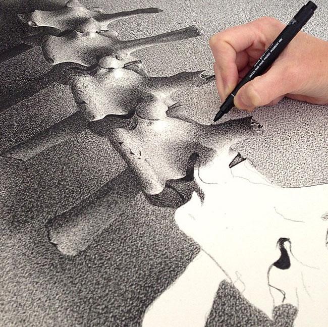 538 Pen on Paper