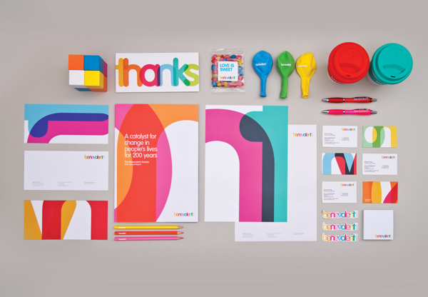 Benevolent Society 15 Innovating Corporate Identity Design Approach