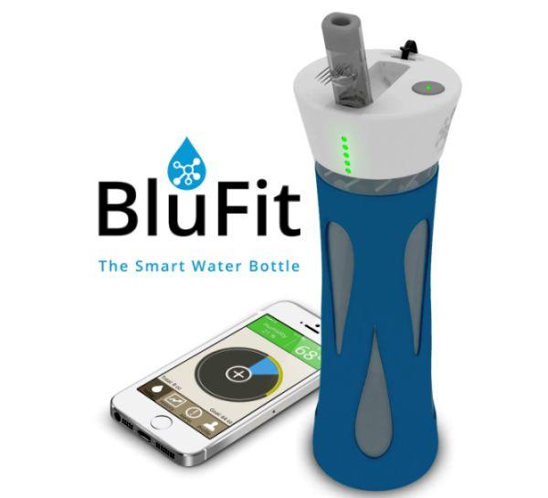 Smart Water Bottle Cap Blufit Smart Water Bottle n1
