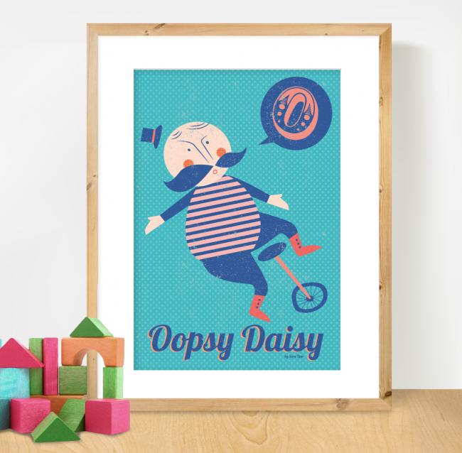 Oopsy Daisy Pre 650x638 Oopsy Daisy Mid Century Inspired Print