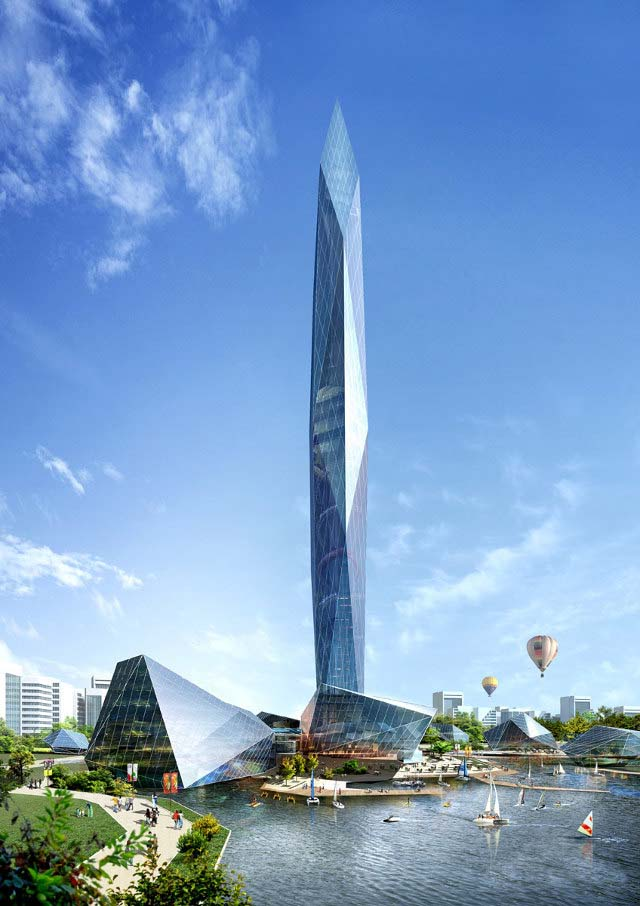 South Korea Building World First Invisible 1 Invisible Skyscraper