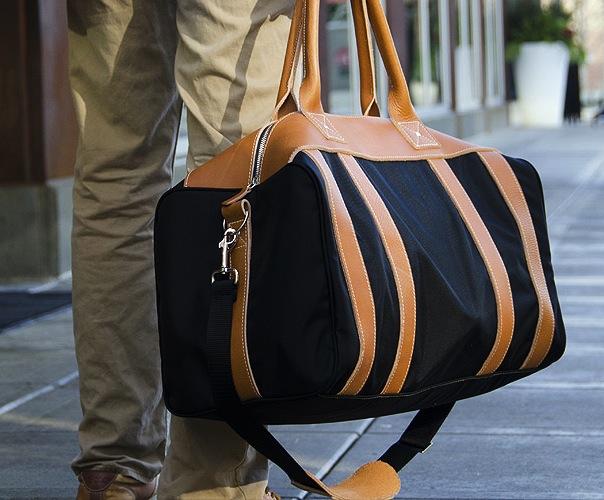 The Worton Weekender1 The Worton Weekender Leather Bag By Blue Claw