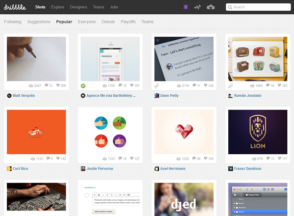 dribbble1 Is Brand Management Important for Your Design Website?