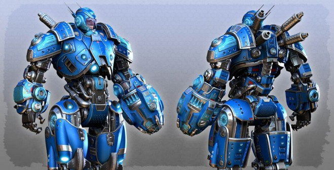 g701 25 Futuristic 3D Robot Character designs for your inspiration