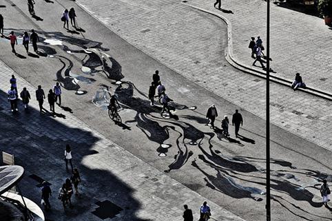 herbert baglione91 Herbert Baglione   1000 Shadows to Frankfurt