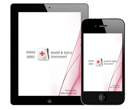 ohsas screen OHSAS 18001 Occupational Health and Safety Audit Program for iPhone