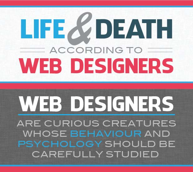thumbnail Life and Death According to Web Designers – Infographic