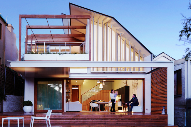 waverley residence by anderson architecture 1 Energy Efficient + Attractive Home in Australia by Anderson Architecture