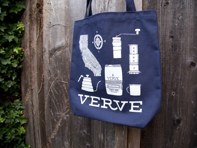 work verve tote 31 650x487 Verve Coffee Roasters Merch Kevin Tudball