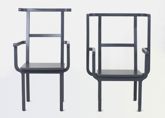 yong 1 650x464 King and Queen Chair by Jeong Yong