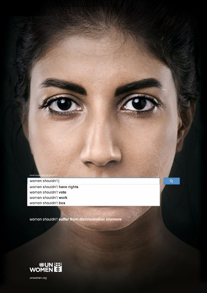 1 2 Ad Shows The World's Popular Opinions Of Women Using Search Engine via @ongezondnl