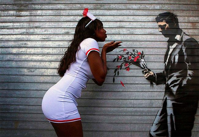 1176 Banksy in New York