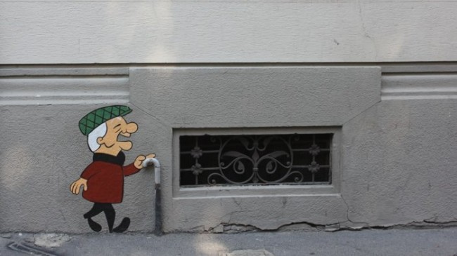 "1380413833 5 650x365 Street artist ""PaoPao"""