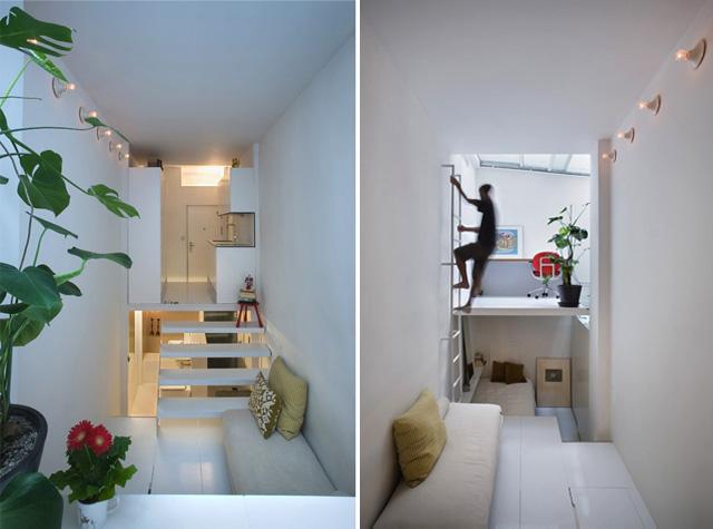 20 Square Meter Apartment by MYCC Oficina de Arquitectura 1 20 Square Meter Apartment by MYCC Oficina de Arquitectura