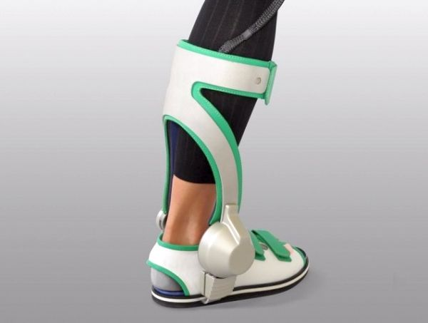 Ankle Walking Assist Device Ankle Walking Assist Device – Robotic exoskeleton leg for people with walking ailments