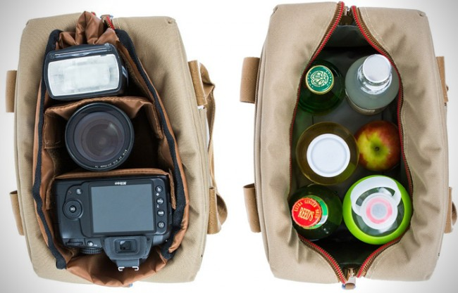 Bag 650x417 This DSLR Camera Bag Doubles as a Cooler