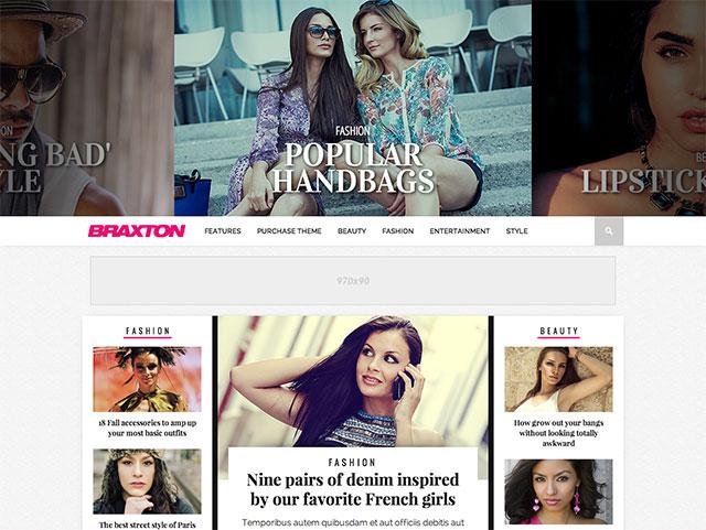 Braxton Best Magazine WordPress Themes
