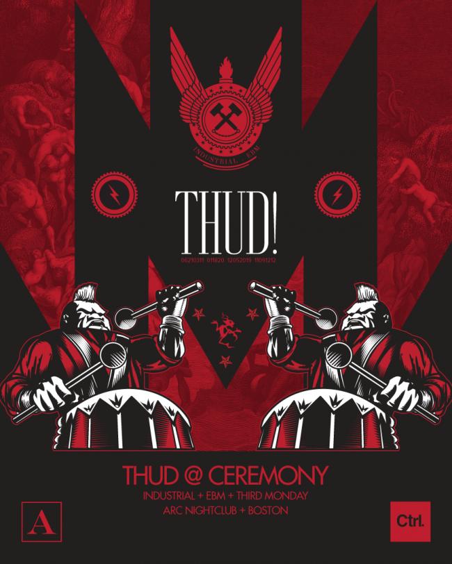 Ceremony Thud V2 CtrlAltDesign 003 650x812 Graphic Design, Ceremony Poster by Ctrl Alt Design