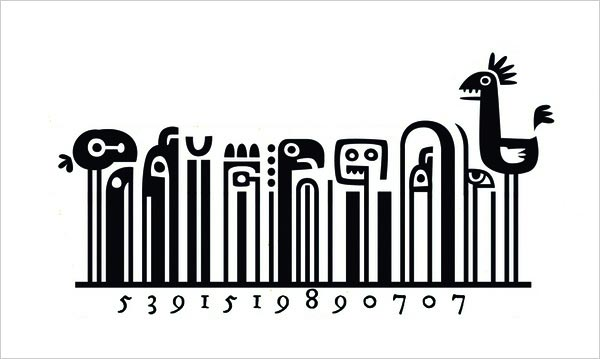 Creative Barcode 1 Cool & Creative Examples of Barcode in Packaging Design