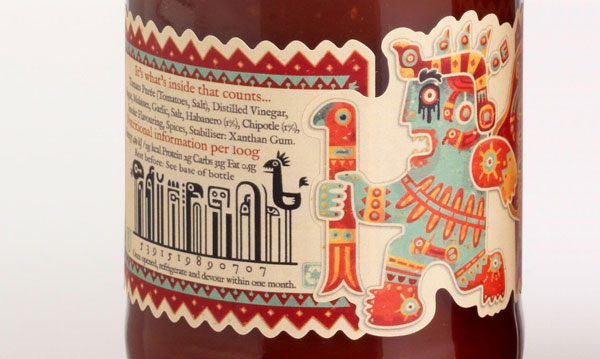 Creative Barcode with packaging1 Cool & Creative Examples of Barcode in Packaging Design