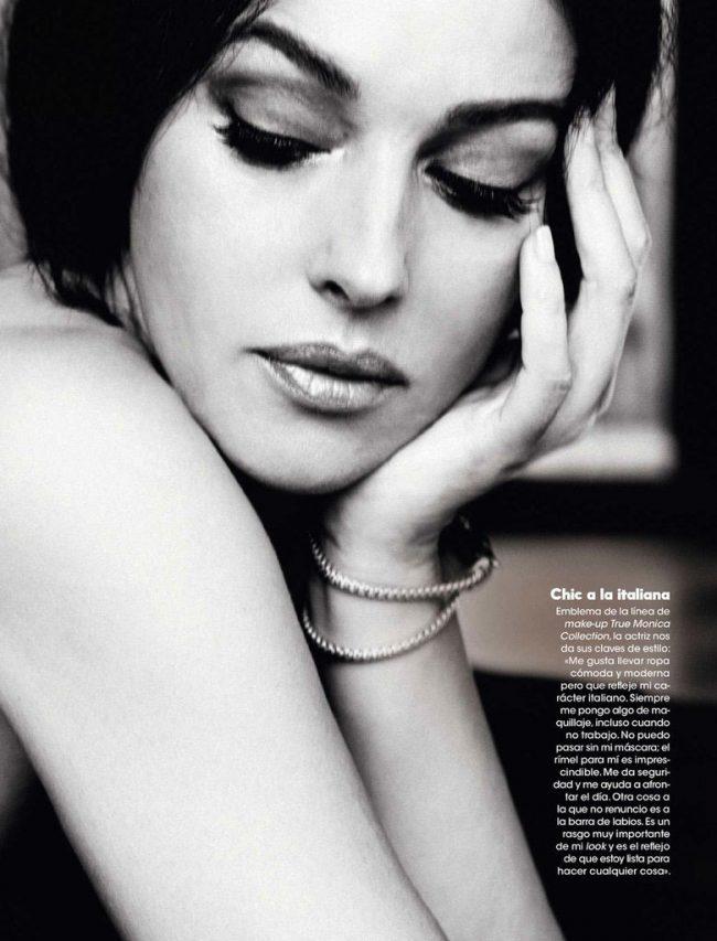 EcPAUz4ySgc 650x853 Monica Bellucci for Elle Spain May, 2013