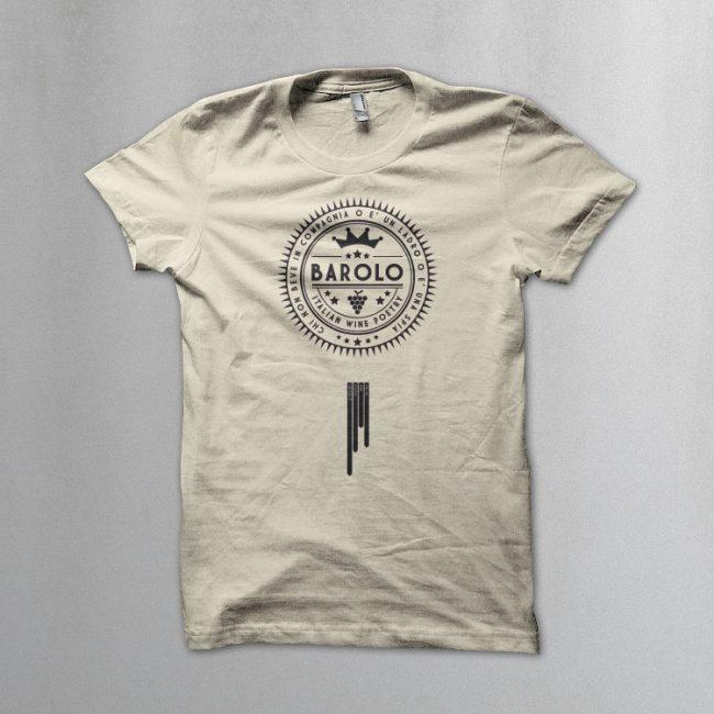 Italian Wine Poetry BAROLO 650x650 Barolo t shirt. Italian Wine Poetry collection