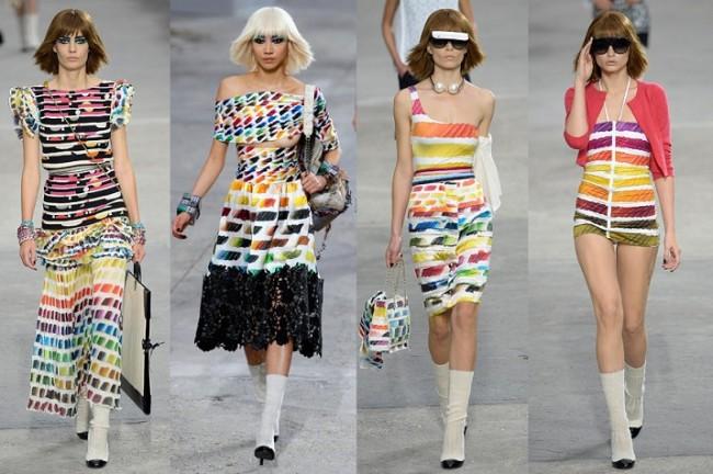 Karl Lagerfeld Frühjahr Sommer 2014 Kollektion für Chanel 02 650x432 Karl Lagerfeld for Chanel