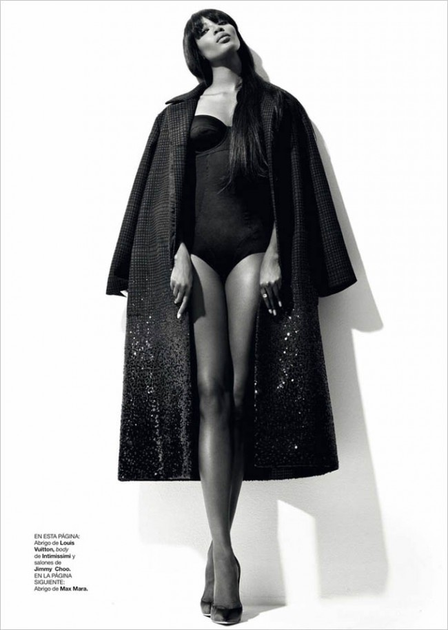 Naomi Campbell Harpers Bazaar Spain Xevi Muntane 03 650x914 Naomi Campbell for Harper's Bazaar Spain