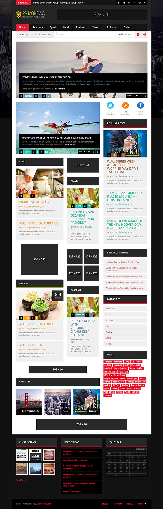 PrimoNews Best Magazine WordPress Themes