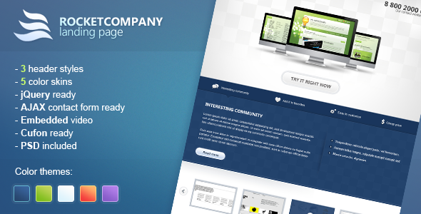Rocketcompany Landing Page Beautiful Landing Page Templates