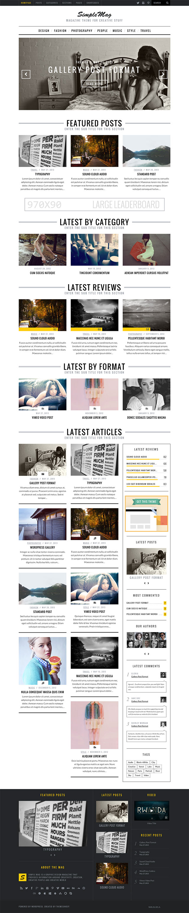 SimpleMag Best Magazine WordPress Themes