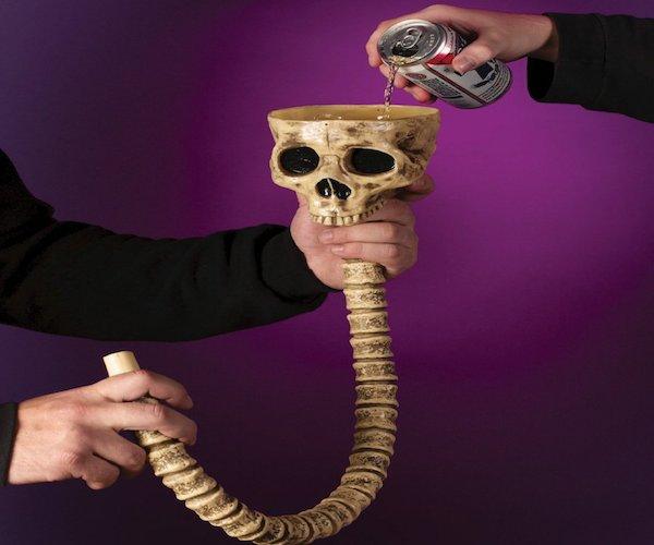 Skeleton Beverage Funnel Skeleton Beverage Funnel