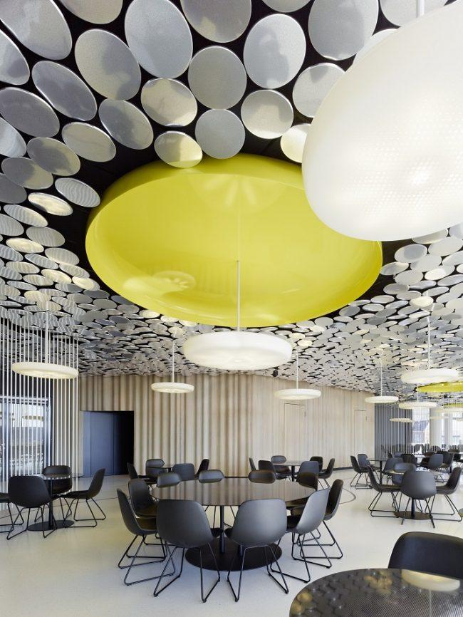 Wohn DesignTrend Spiegel Ippolito Fleitz Group 03 650x866 DER SPIEGEL Canteen by Ippolito Fleitz Group