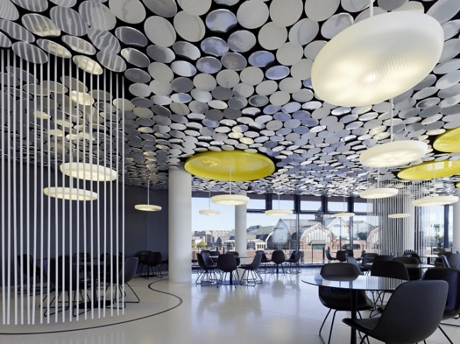 Wohn DesignTrend Spiegel Ippolito Fleitz Group 04 650x487 DER SPIEGEL Canteen by Ippolito Fleitz Group