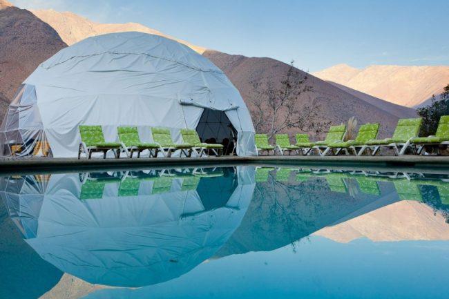 elqui domos hotel by rdm arquitectura 1 650x433 Elqui Domos Astronomic Hotel in Chile by RDM Arquitectura
