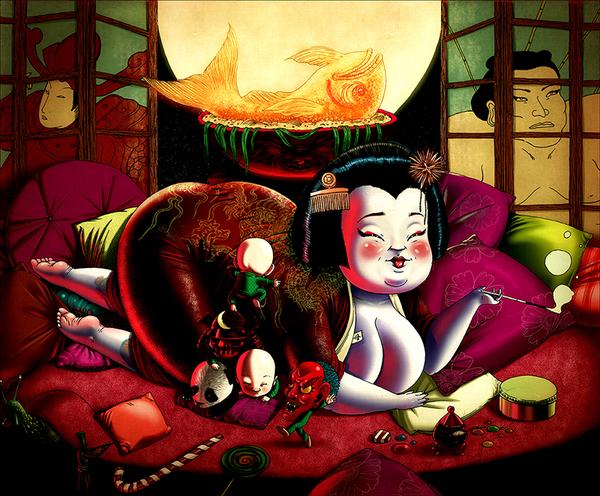 f5d64eaf519f67ce95f4cf4b561c8689 Mexican Illustrator Rafahu