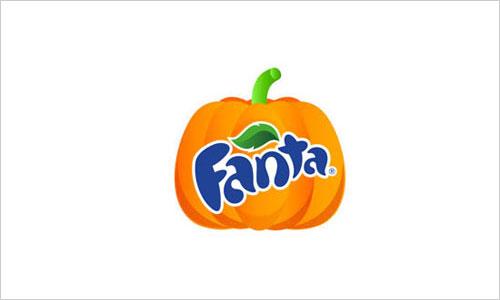 fanta logo for Halloween 2013 Famous Company Logos Redesigned for Halloween 2013 via @ongezondnl