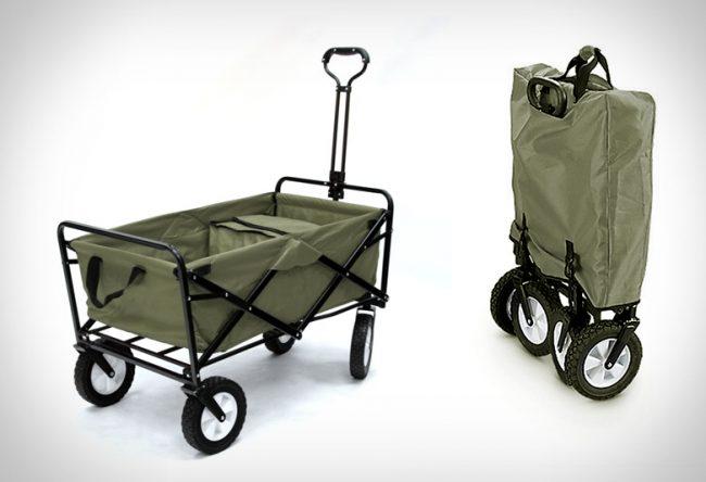 folding utility wagon large 650x444 Folding Utility Wagon