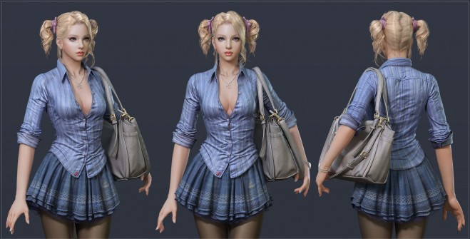 g724 25 Incredible 3D Character Designs and Zbrush Models