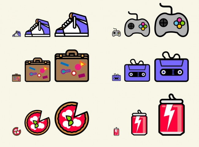 icons scalable1 650x480 140 supercool pop flat icons